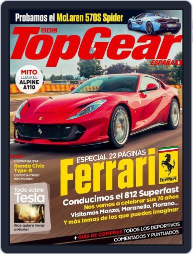 Top Gear España (Digital) September 1st, 2017 Issue Cover