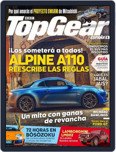 Top Gear España (Digital) January 1st, 2018 Issue Cover