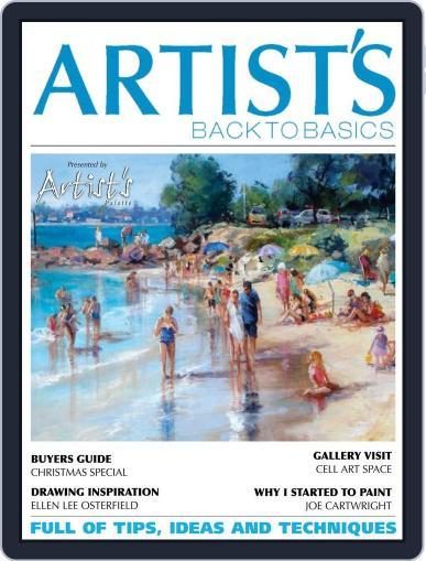 Artists Back to Basics October 1st, 2014 Digital Back Issue Cover