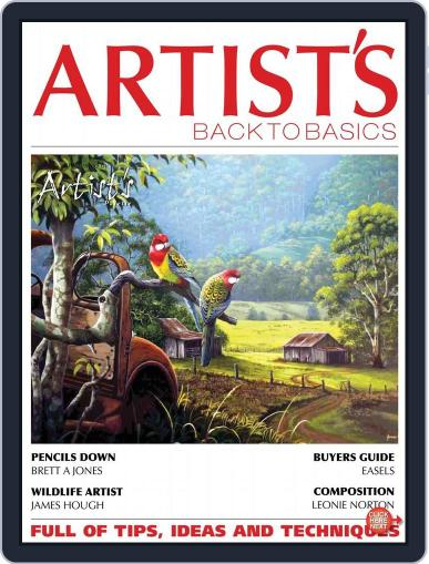 Artists Back to Basics January 1st, 2015 Digital Back Issue Cover