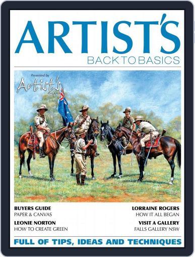 Artists Back to Basics April 1st, 2015 Digital Back Issue Cover