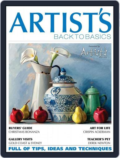 Artists Back to Basics October 1st, 2015 Digital Back Issue Cover