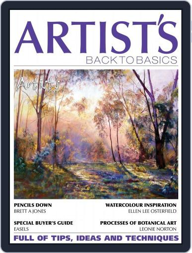 Artists Back to Basics February 9th, 2016 Digital Back Issue Cover