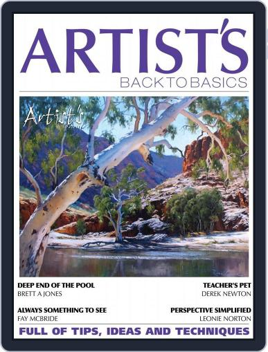 Artists Back to Basics July 1st, 2016 Digital Back Issue Cover