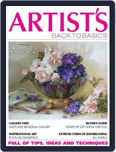 Artists Back to Basics October 1st, 2016 Digital Back Issue Cover