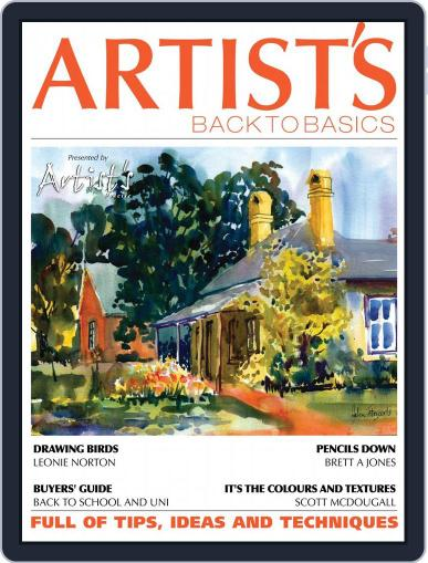 Artists Back to Basics January 1st, 2017 Digital Back Issue Cover