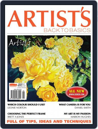 Artists Back to Basics (Digital) July 1st, 2017 Issue Cover