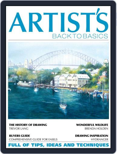 Artists Back to Basics October 1st, 2017 Digital Back Issue Cover