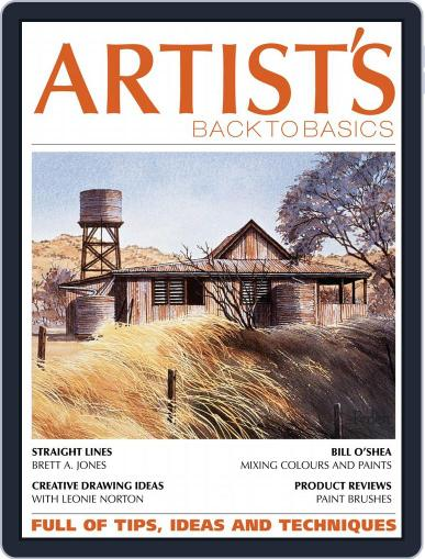 Artists Back to Basics March 1st, 2018 Digital Back Issue Cover