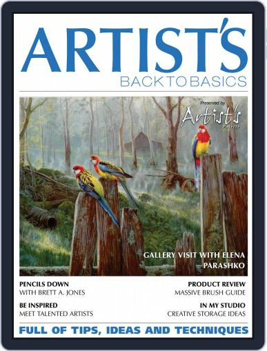 Artists Back to Basics July 1st, 2019 Digital Back Issue Cover