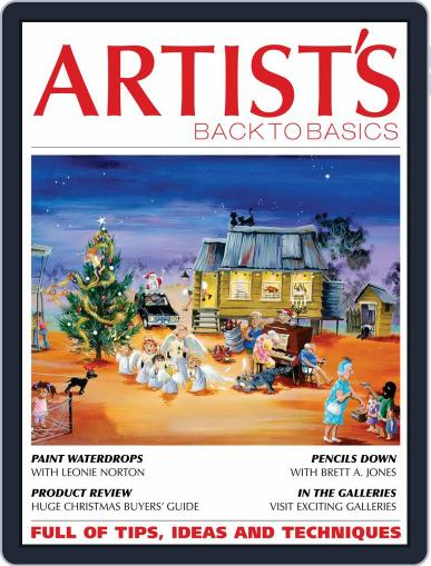 Artists Back to Basics October 1st, 2019 Digital Back Issue Cover