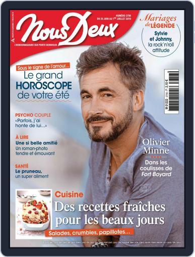 Nous Deux June 25th, 2019 Digital Back Issue Cover