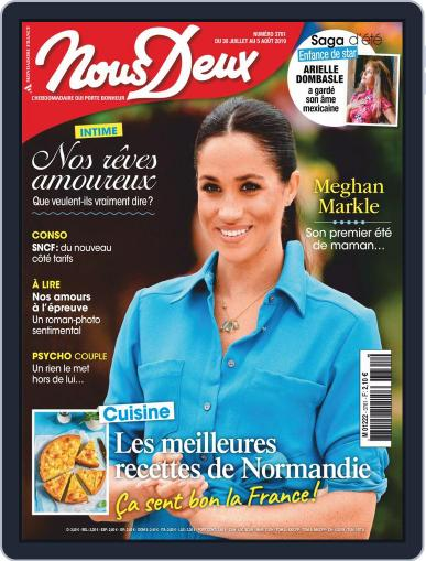 Nous Deux July 30th, 2019 Digital Back Issue Cover