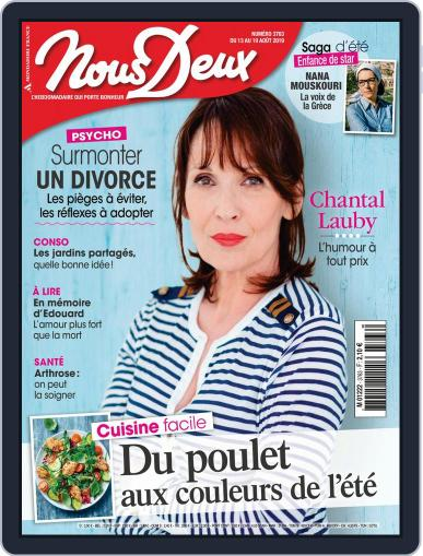 Nous Deux August 13th, 2019 Digital Back Issue Cover