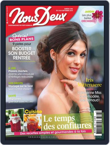 Nous Deux September 3rd, 2019 Digital Back Issue Cover