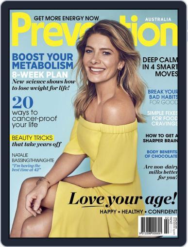 Prevention Magazine Australia April 1st, 2018 Digital Back Issue Cover