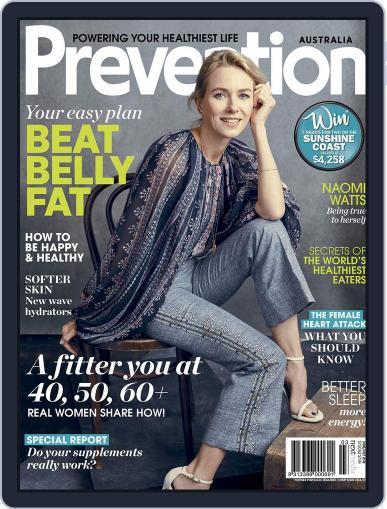 Prevention Magazine Australia June 1st, 2018 Digital Back Issue Cover