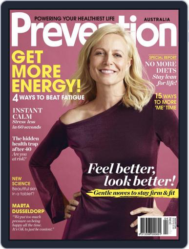 Prevention Magazine Australia August 1st, 2018 Digital Back Issue Cover