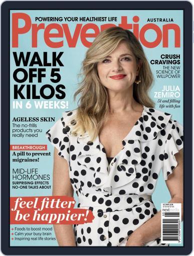 Prevention Magazine Australia October 1st, 2018 Digital Back Issue Cover