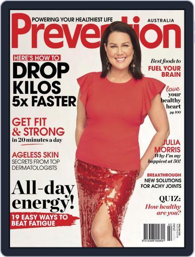 Prevention Magazine Australia April 1st, 2019 Digital Back Issue Cover