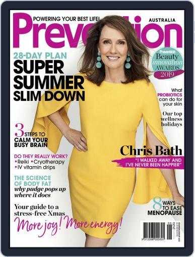 Prevention Magazine Australia December 1st, 2019 Digital Back Issue Cover
