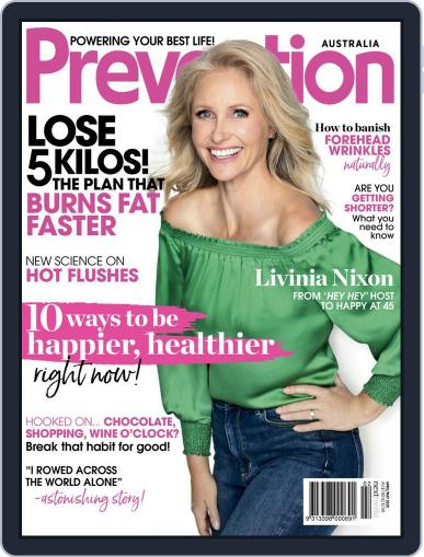 Prevention Magazine Australia April 1st, 2020 Digital Back Issue Cover