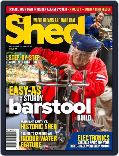 The Shed September 1st, 2017 Digital Back Issue Cover
