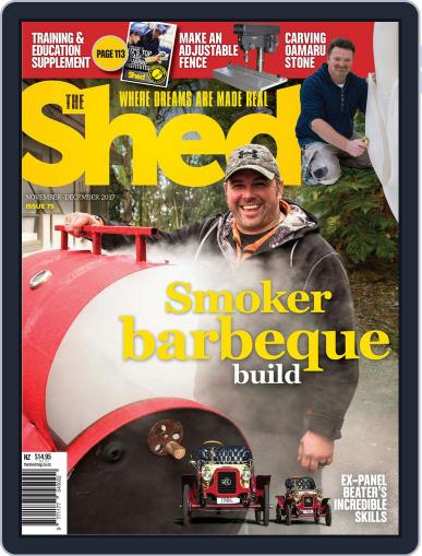 The Shed (Digital) November 1st, 2017 Issue Cover