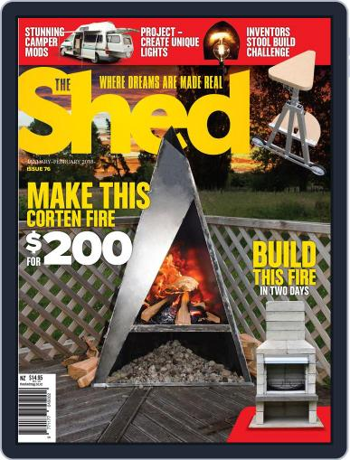 The Shed January 1st, 2018 Digital Back Issue Cover