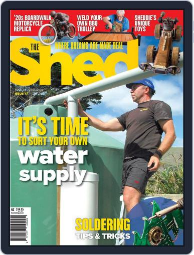 The Shed March 1st, 2018 Digital Back Issue Cover