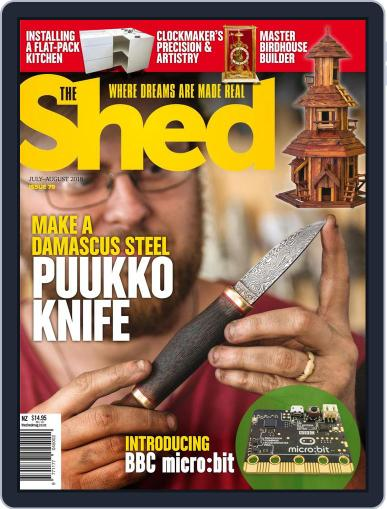 The Shed July 1st, 2018 Digital Back Issue Cover