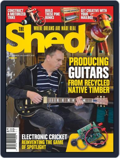 The Shed November 1st, 2018 Digital Back Issue Cover
