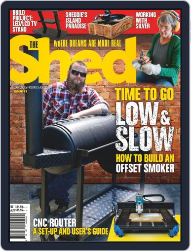 The Shed (Digital) January 1st, 2019 Issue Cover