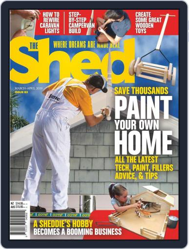 The Shed March 1st, 2019 Digital Back Issue Cover