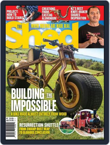 The Shed (Digital) May 1st, 2019 Issue Cover