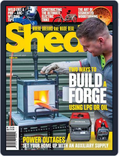 The Shed (Digital) July 1st, 2019 Issue Cover