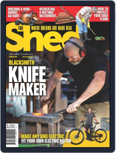 The Shed (Digital) September 1st, 2019 Issue Cover