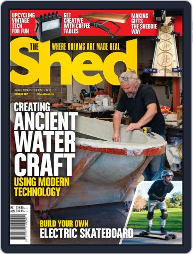 The Shed (Digital) November 1st, 2019 Issue Cover