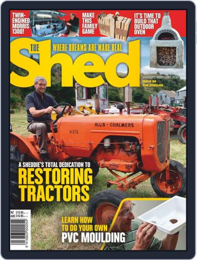 The Shed January 1st, 2020 Digital Back Issue Cover