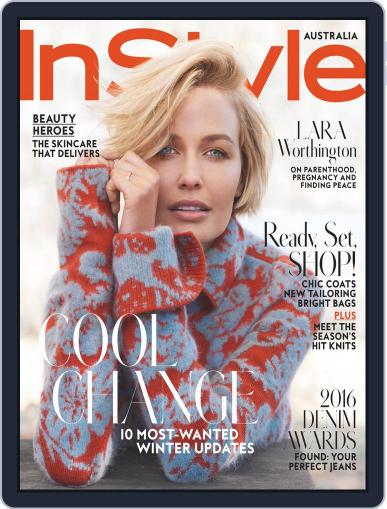 InStyle Australia (Digital) June 30th, 2016 Issue Cover