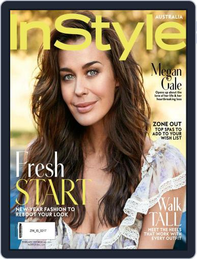 InStyle Australia (Digital) February 1st, 2017 Issue Cover