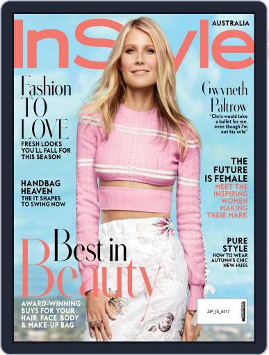InStyle Australia (Digital) April 1st, 2017 Issue Cover