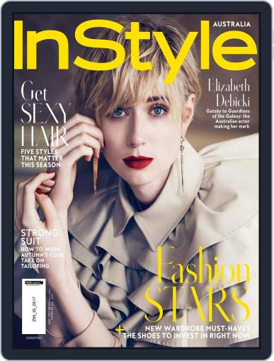 InStyle Australia (Digital) May 1st, 2017 Issue Cover