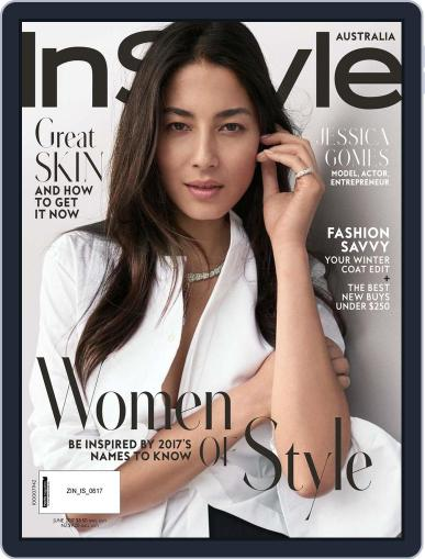 InStyle Australia (Digital) June 1st, 2017 Issue Cover