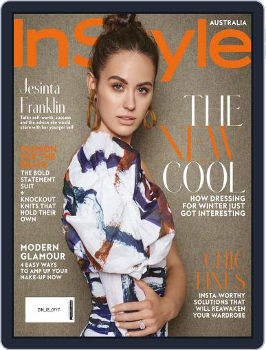 InStyle Australia (Digital) July 1st, 2017 Issue Cover