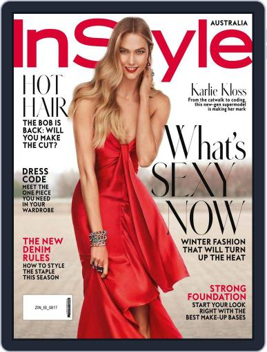 InStyle Australia (Digital) August 1st, 2017 Issue Cover