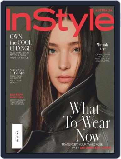 InStyle Australia (Digital) April 1st, 2019 Issue Cover