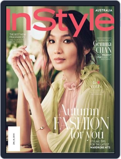 InStyle Australia (Digital) May 1st, 2019 Issue Cover