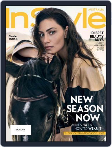 InStyle Australia (Digital) September 1st, 2019 Issue Cover