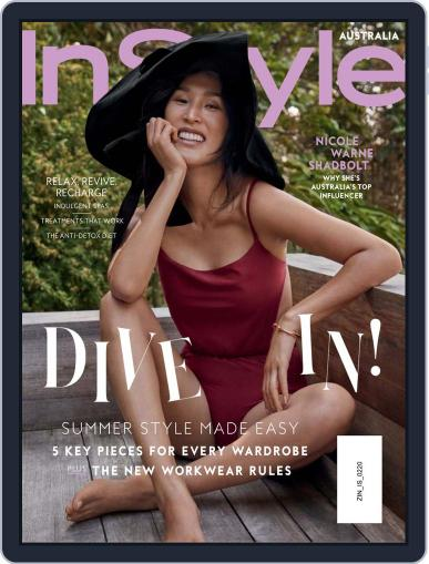 InStyle Australia (Digital) February 1st, 2020 Issue Cover
